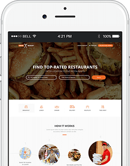 FoodBakery in your mobile! Get our app